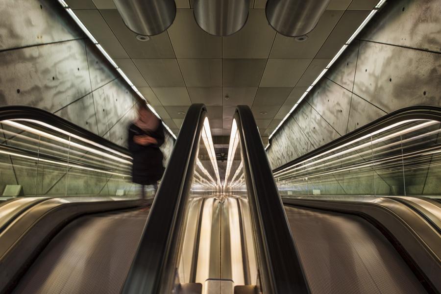 Trianglen escalators 003