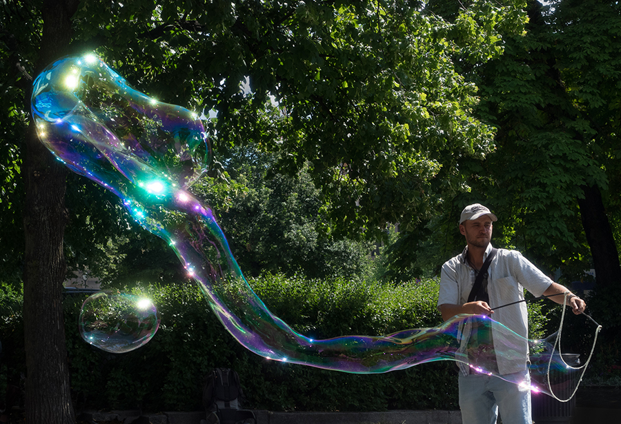 Bubble man 2