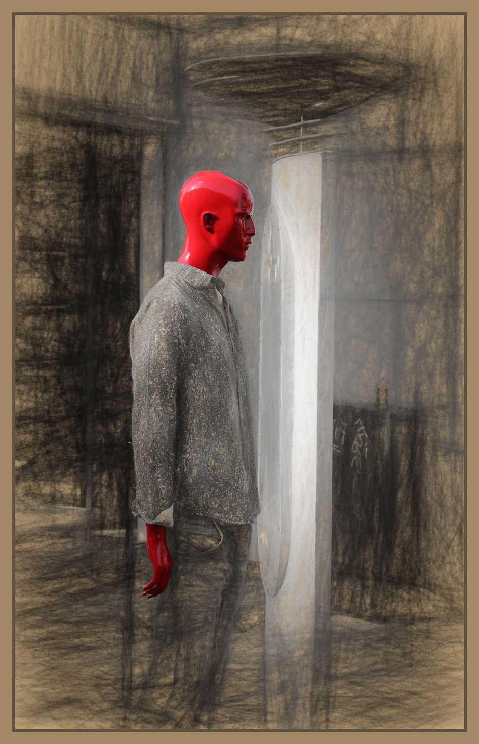 Red Man No 3