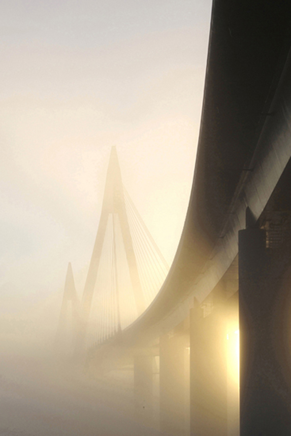 Bridge in early morning