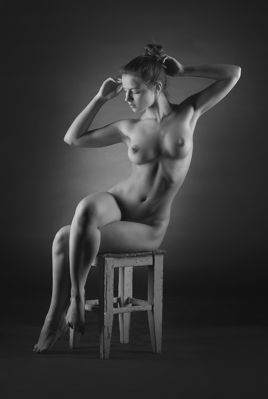 Julia on chair